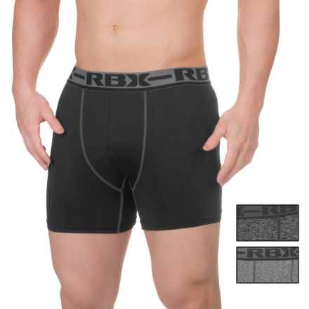 RBX Pro Boxer Briefs - 3-Pack (For Men) in Grey Heather/Black/Charcoal Heather - Closeouts
