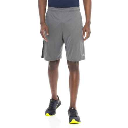"""RBX Reflective Print Shorts - 9"""" (For Men) in Charcoal - Closeouts"""