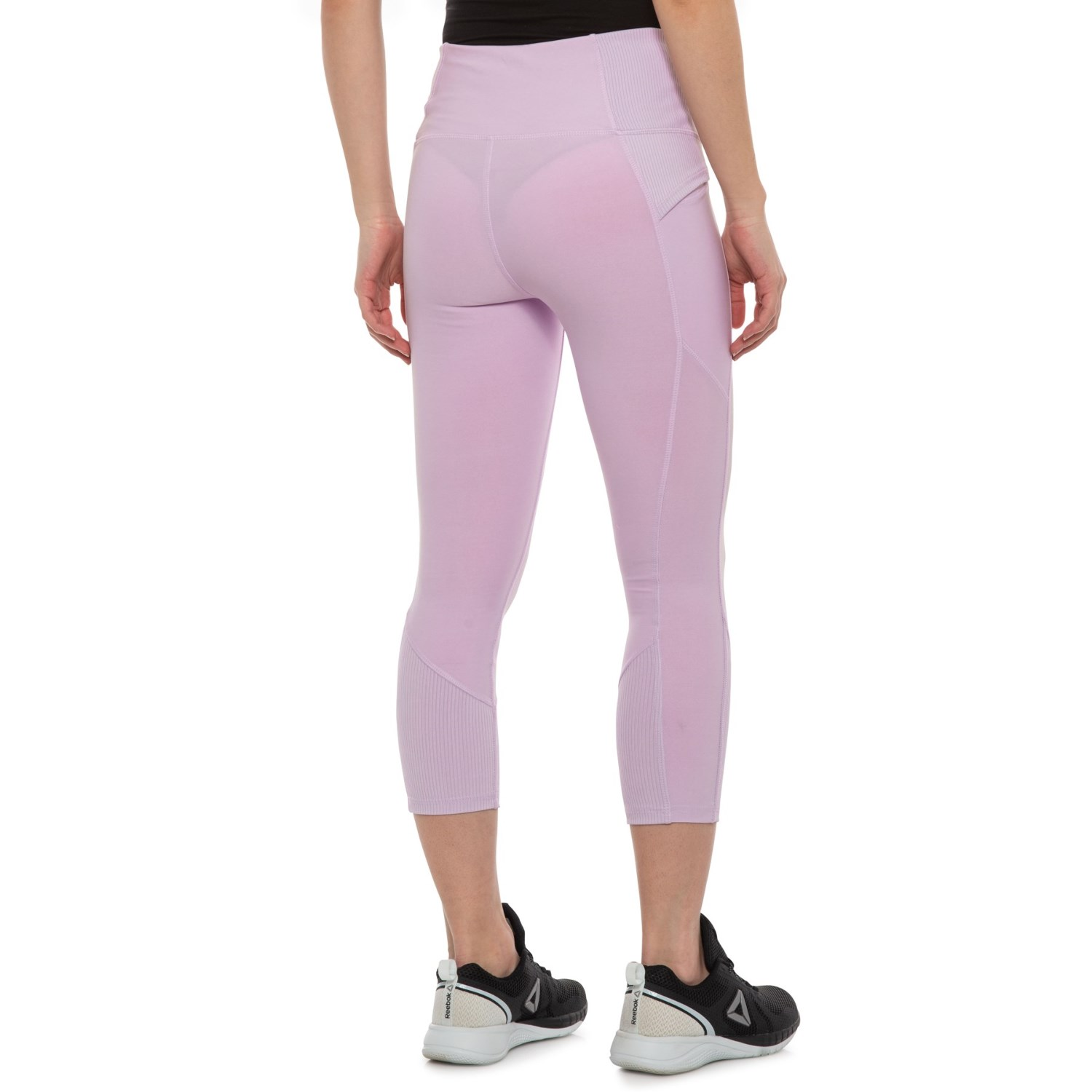 6a0d5c92cb9a2 RBX Ribbed Capris (For Women) - Save 50%