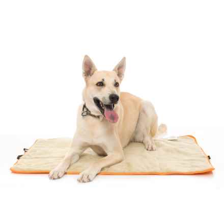 """RBX Roll-Up Travel Dog Mat - 30x40"""" in Orange - Closeouts"""