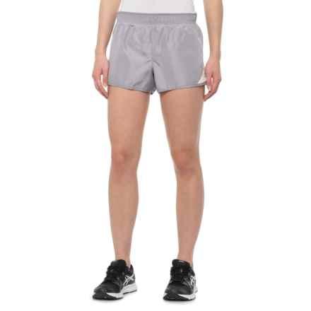 RBX Running Shorts - Built-In Brief (For Women) in Moonstone Seashell