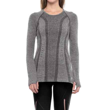 RBX Seamless Single-Dye T-Shirt - Long Sleeve (For Women) in Charcoal - Closeouts