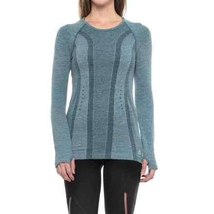 RBX Seamless Single-Dye T-Shirt - Long Sleeve (For Women) in Emerald - Closeouts
