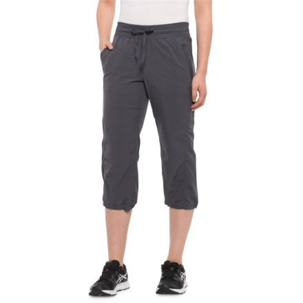 e5bd9f5d101b5 RBX Shirred Woven Capris (For Women) in Grey Anatomy