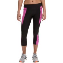 RBX Space-Dye Blocked Capris (For Women) in Fuchsia Fusion - Closeouts