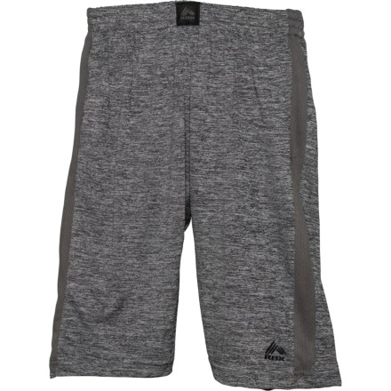 6fe4223f43 RBX Space-Dye High-Performance Jersey Shorts (For Big Boys) in Grey