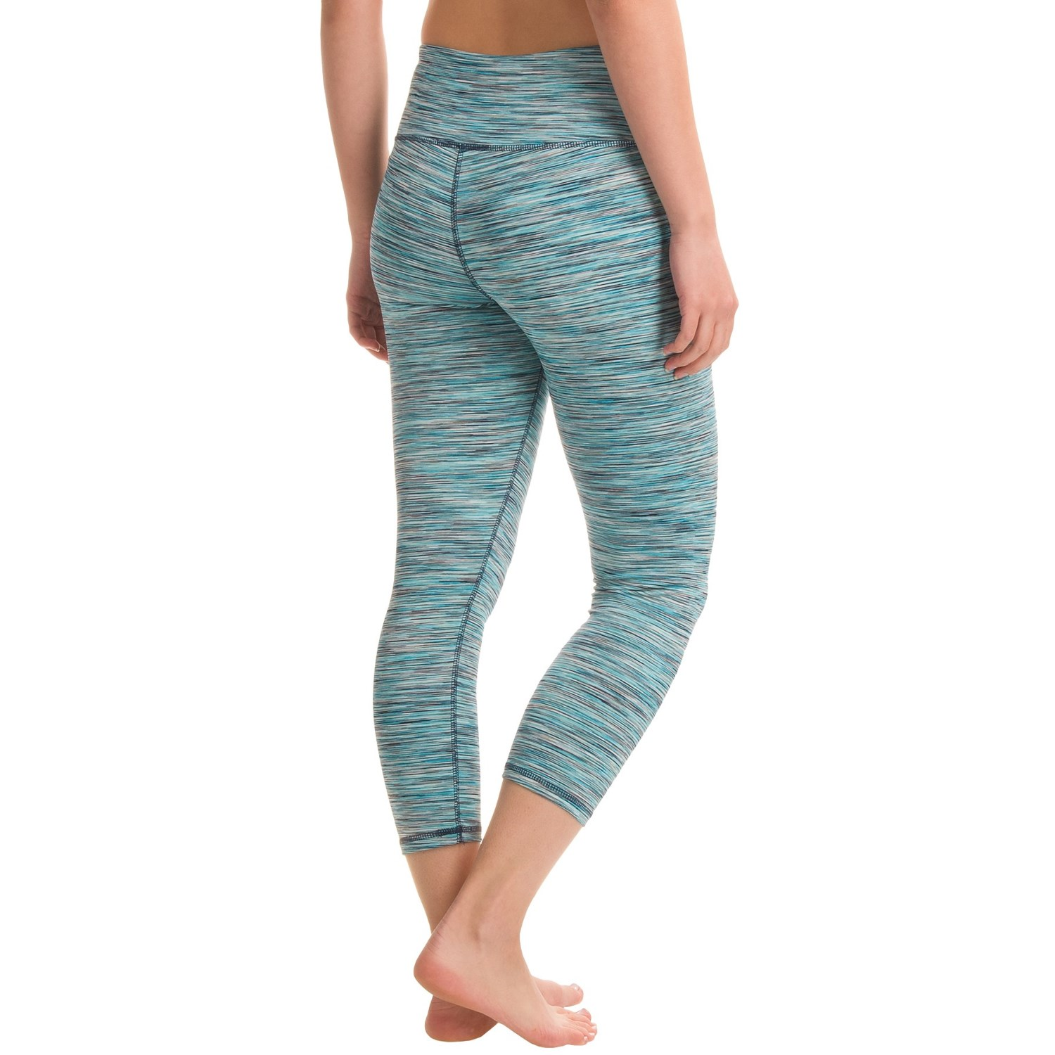 RBX Space-Dye Yoga Capri Leggings (For Women) - Save 50%
