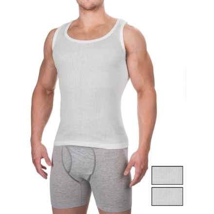 RBX Sport Performance Tank Top - 3-Pack (For Men) in White/White/White - Closeouts