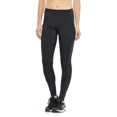 RBX Stratus Fleece-Lined Running Tights (For Women) in Black