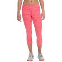 RBX Stratus Striated Print Leggings (For Women) in Rebel Rose - Closeouts