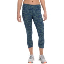 RBX Stratus Wild Card Capris (For Women) in Blazer Blue/Appletin - Closeouts