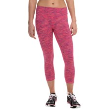 RBX Stratus Wild Card Capris (For Women) in Fuchsia Fusion/Fiery - Closeouts