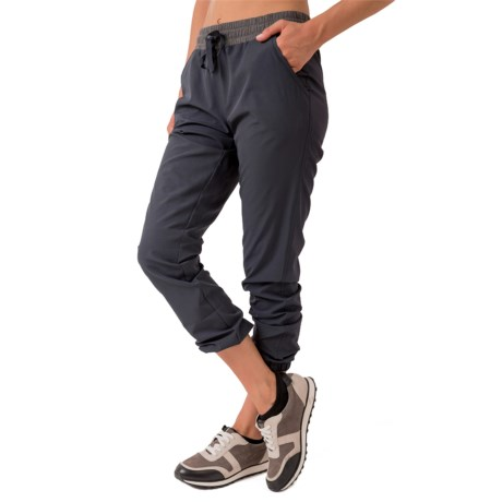 RBX Stretch Woven Joggers (For Women)