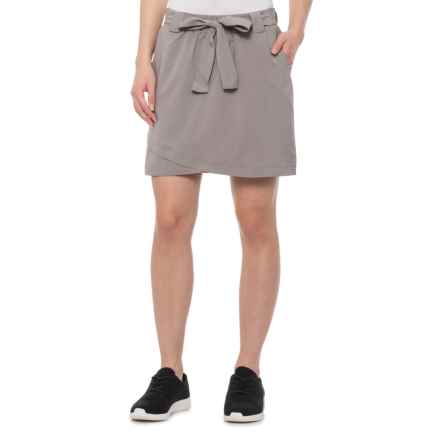 RBX Stretch-Woven Skort (For Women) in Tawny Taupe