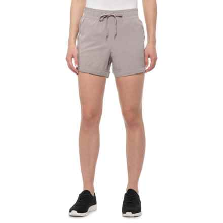 RBX Stretch-Woven Walking Shorts (For Women) in Tawny Taupe