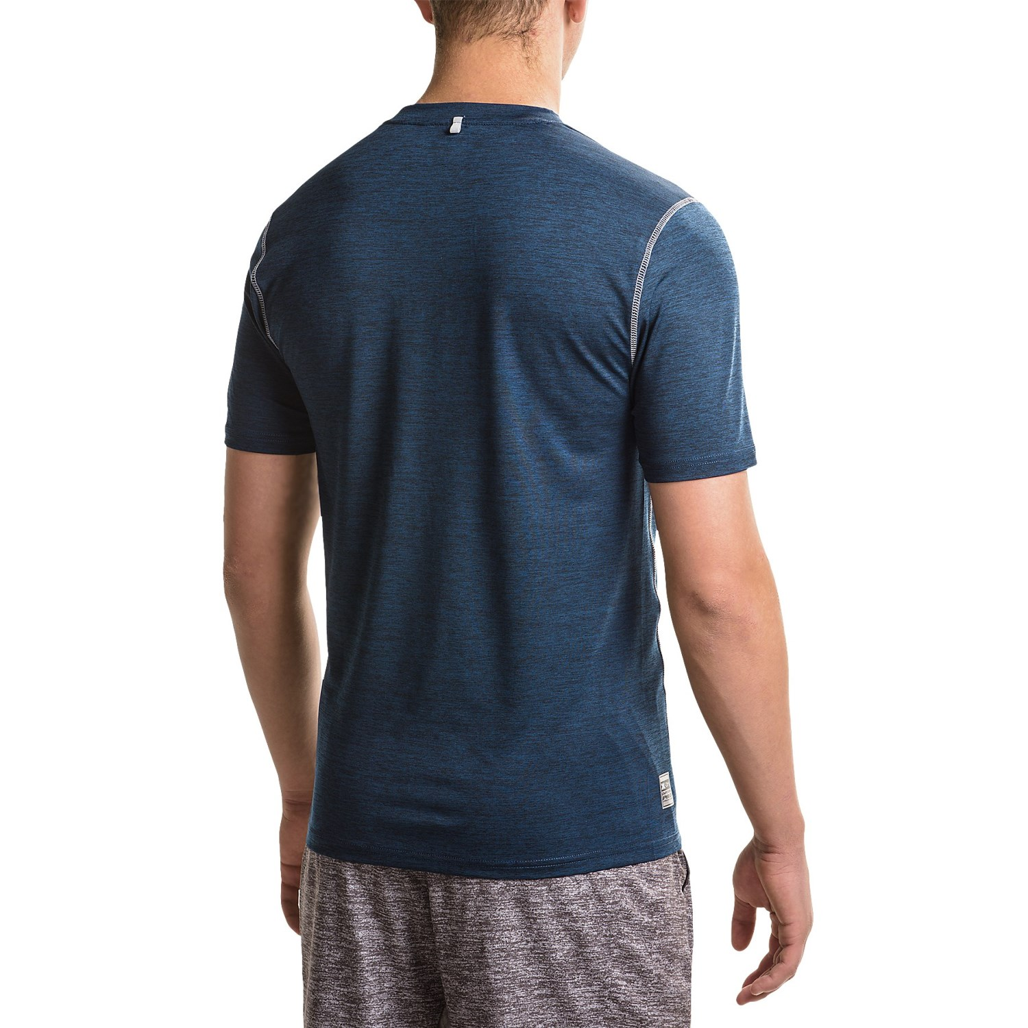 Rbx striated compression t shirt for men save 77 for Compression tee shirts for men