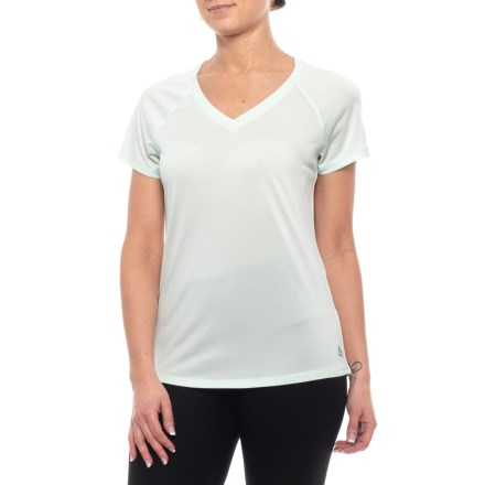 063bcc2183527 RBX Striated Space-Dye Shirt - Short Sleeve (For Women) in Apple