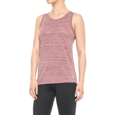 RBX Striated Tank Top (For Women) in Ginger Spice/Black