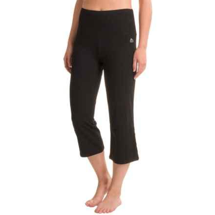 RBX Tummy-Control Capri Leggings - High Waist (For Women) in Black - Closeouts