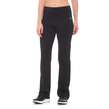 RBX Tummy Control Fitness Pants - Bootcut (For Women)