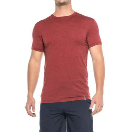 RBX Ultrasoft T-Shirt - Crew Neck, Short Sleeve (For Men) in Dark Heather Red - Closeouts