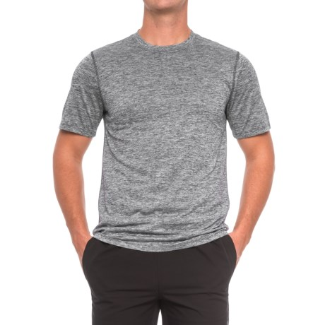 RBX X-Train Striated Shirt - Short Sleeve (For Men) in Black