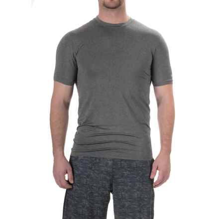 RBX XTrain Compression Shirt - Short Sleeve (For Men) in Charcoal Heather - Closeouts