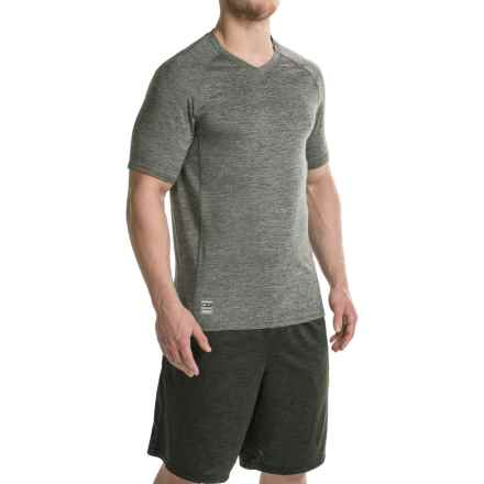 RBX XTrain Heathered Shirt - V-Neck, Short Sleeve (For Men) in Charcoal Heather - Closeouts