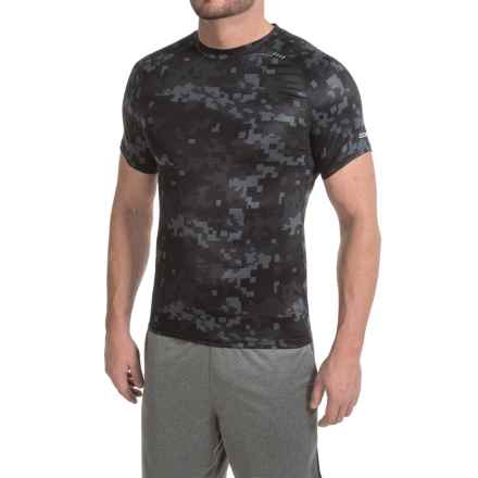 RBX XTrain High-Performance Digital-Print Shirt - Fitted, Short Sleeve (For Men) in Black - Closeouts