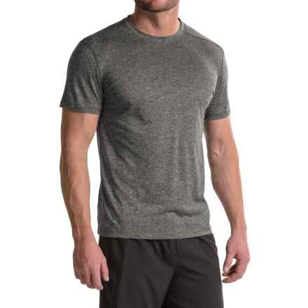 RBX XTrain High-Performance Heathered Shirt - Rotated Shoulders, Short Sleeve (For Men) in Charcoal Heather - Closeouts