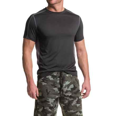 RBX XTrain High-Performance Heathered Shirt - Short Sleeve (For Men) in Black/Grey - Closeouts