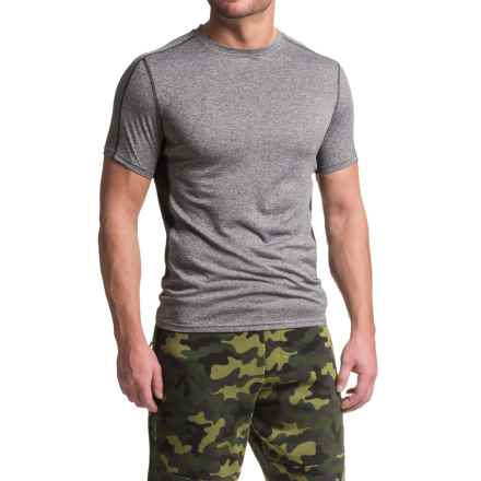 RBX XTrain High-Performance Heathered Shirt - Short Sleeve (For Men) in Charcoal/Black - Closeouts