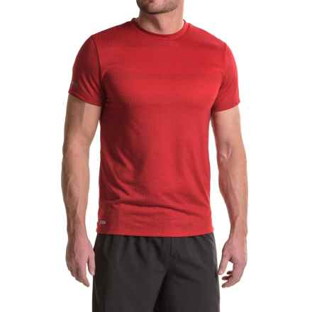RBX XTrain High-Performance Printed Mesh Shirt - Short Sleeve (For Men) in Gym Red - Closeouts