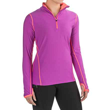 RBX Zip Neck Jacket (For Women) in Violet/ - Closeouts