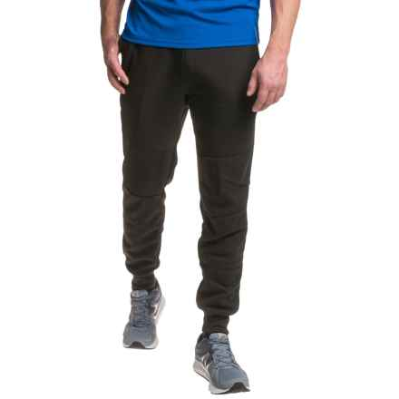RBX Zip-Side Fleece Joggers (For Men) in Black - Closeouts