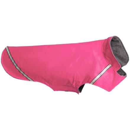 RC Pet Products West Coast Dog Rain Jacket- Large in Raspberry - Closeouts
