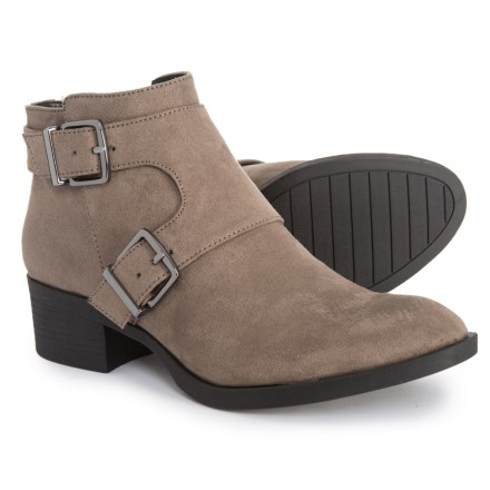bb1ee1ff621 REACTION Re-Belle Ankle Booties (For Women) in Putty