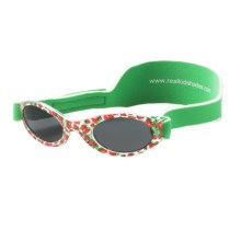 Real Kids Shades My First Shades Sunglasses - 0-24 Months (For Infants) in Green/Strawberry - Closeouts