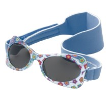 Real Kids Shades My First Shades Sunglasses - 2-5 Years (For Toddlers) in Blue Flower/Grey - Closeouts