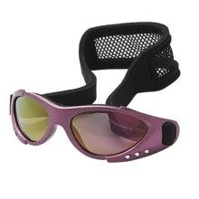 Real Kids Shades Xtreme Sports Sunglasses - 3-7 Years (For Kids) in Lavender/Grey - Closeouts