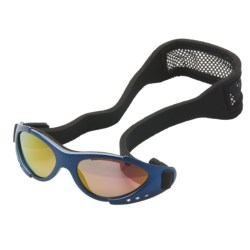 Real Kids Shades Xtreme Sports Sunglasses - 3-7 Years (For Kids) in Navy/Black