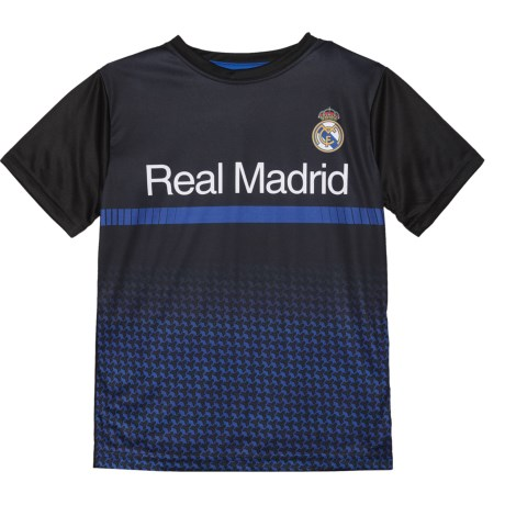 Real Madrid T-Shirt - Short Sleeve (For Kids) in Black/Royal