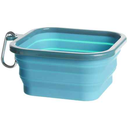 Real Simple Collapsible Dog Bowl - 32 fl.oz. in Blue - Closeouts