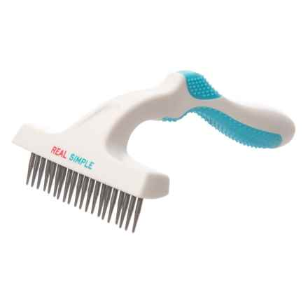 RealSimple Single Rake Pet Comb in Blue - Closeouts