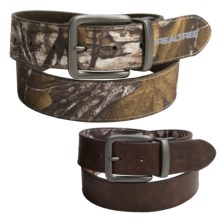 Realtree 38mm Realtree Reversible Belt (For Men) in Realtree Xtra R/Brown - Closeouts