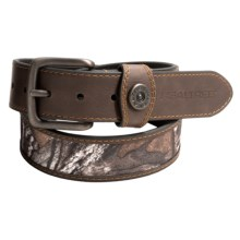 Realtree 40mm Camo Insert Shot Shell Belt (For Men) in Realtree Xtra - Closeouts