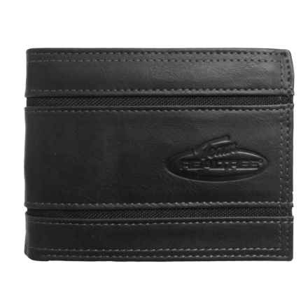 Realtree Bifold Wallet with Nylon Inserts (For Men) in Black - Closeouts