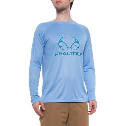 dec026df Realtree Carolina Blue Raglan Tech T-Shirt - Long Sleeve (For Men) in