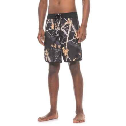Realtree E-Board Shorts (For Men) in Ap Black - Closeouts