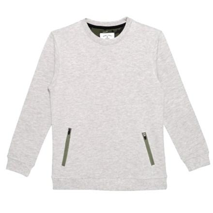 a1c088931 Rebel James & Charli Camo Elbow Sweatshirt (For Big Boys) in Grey -  Closeouts